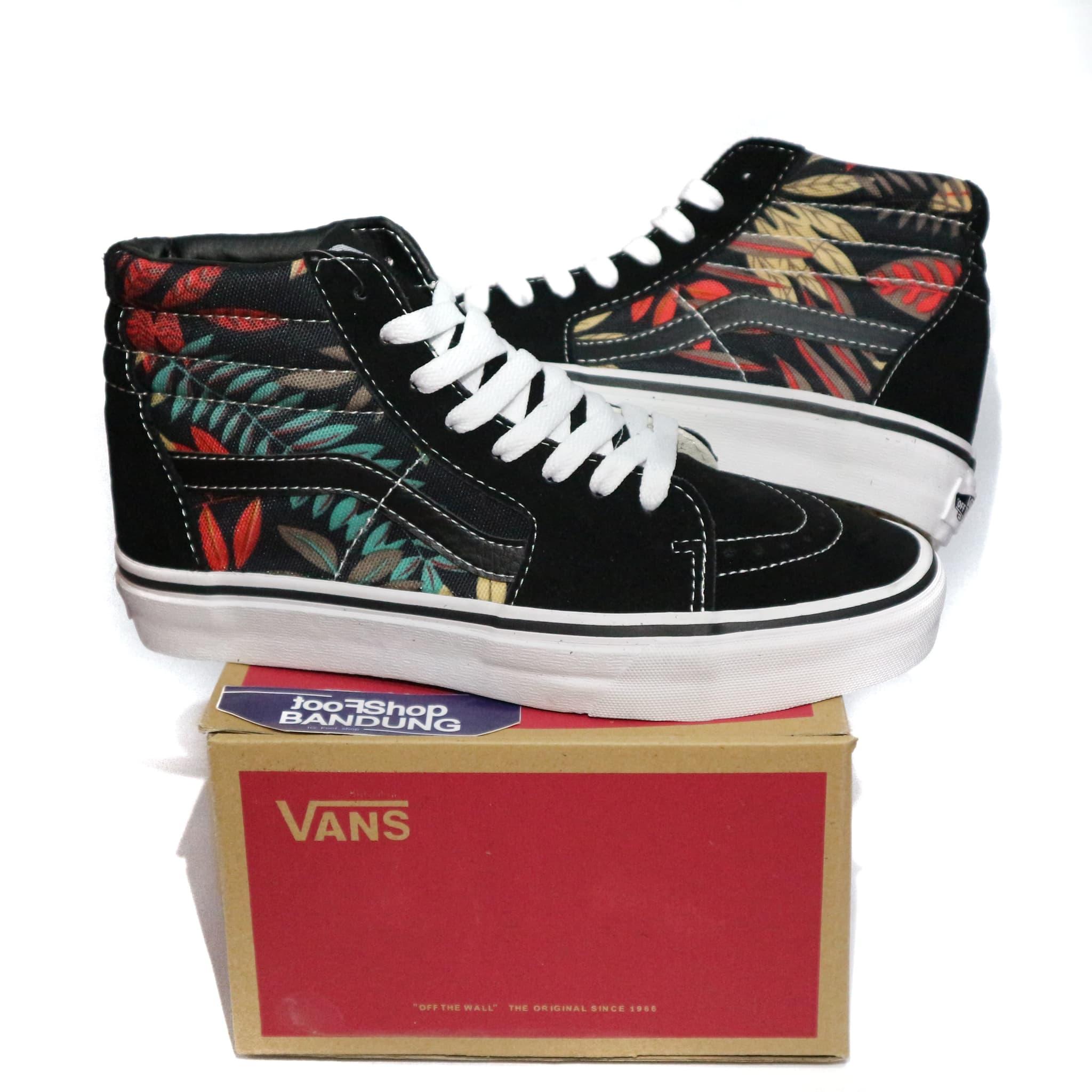 Jual Sepatu Vans SK8 HI Motif Aloha 40-44 Premium - Footshop ... 9d57253de4