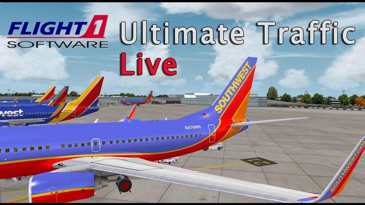 Jual Flight1: Ultimate Traffic Live - FSX Addon/P3D Addon - Kota
