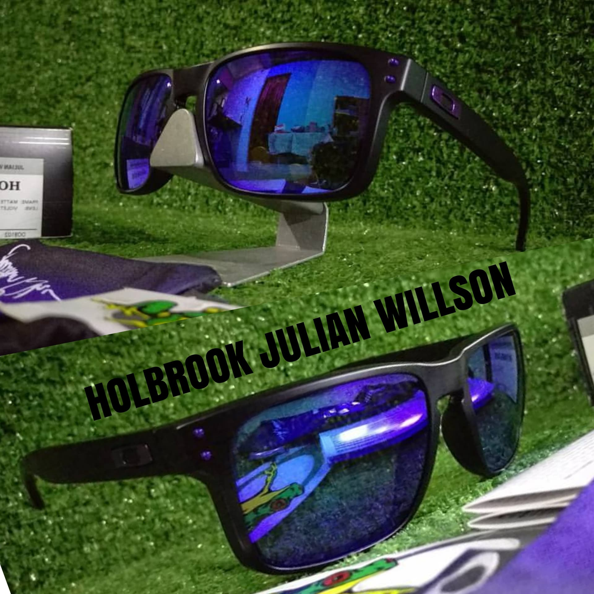 ... Kacamata Oakley Holbrook Vr46 Rossi Lensa Polarized Super Premium -  Gambar Ke Dua - Nita - 2ac16bb6e8