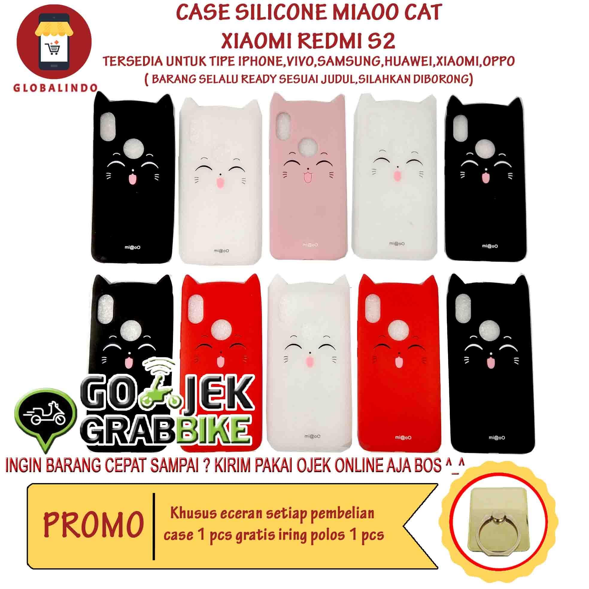 HEMAT Paling Bagus Termurah Xiaomi Redmi S2 Case MiaOo Cat Casing Kucing Hp 280db325fd