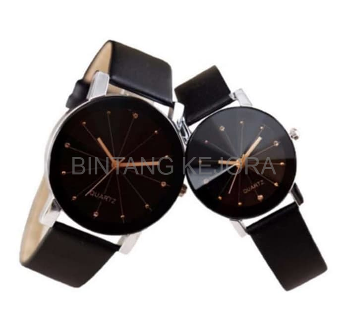 Jam Tangan Couple Classic Korean Style Analog Watch Watches Sepasang ... 611571879b