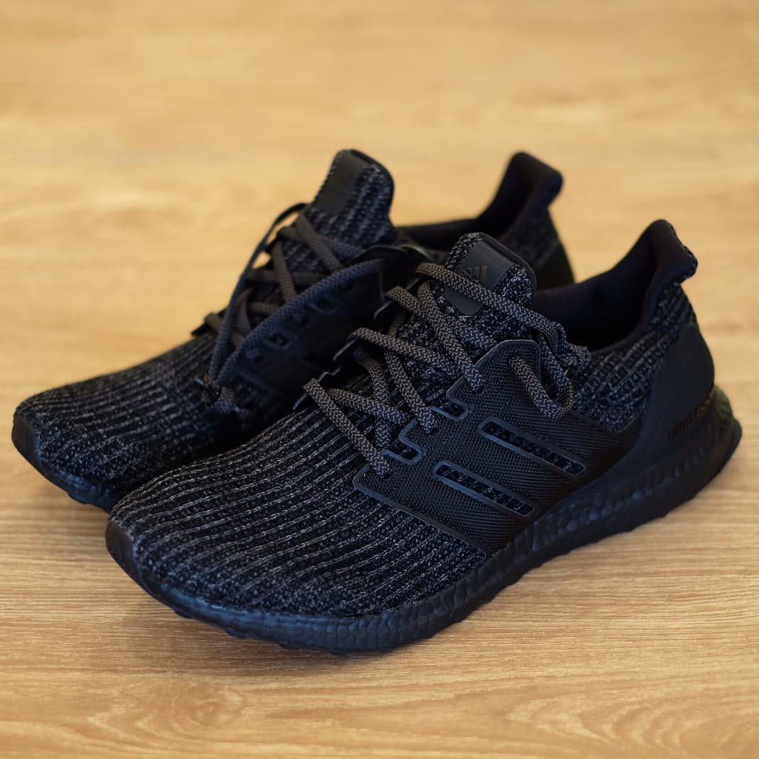 da304a0f852 Jual Adidas Ultra BOOST 4.0 Triple Black 100% Authentic BNIB US ...