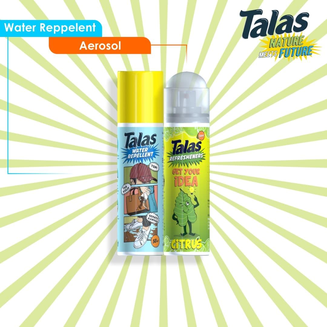 New Talas Water Repellent (Pelindung Anti Air) & Talas Refreshener Aerosol Citrus (Pengharum) - Blanja.com