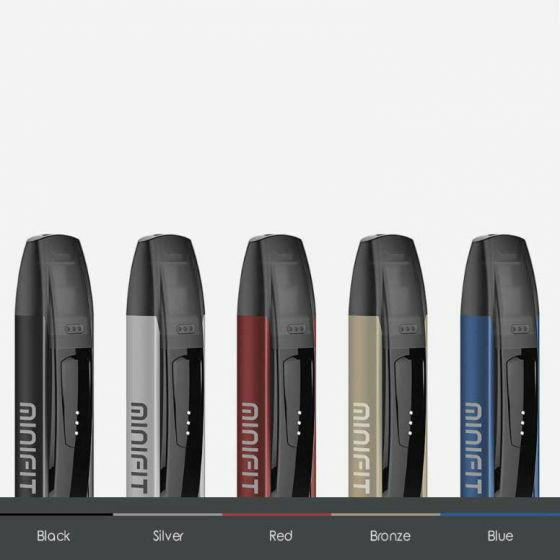 MURAH Minifit pod starter kit authentic by justfog for vape vaporizer b4a809c945