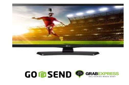 TV LG - monitor LED TV 24 inch - Hitam - Model 24MT48AF