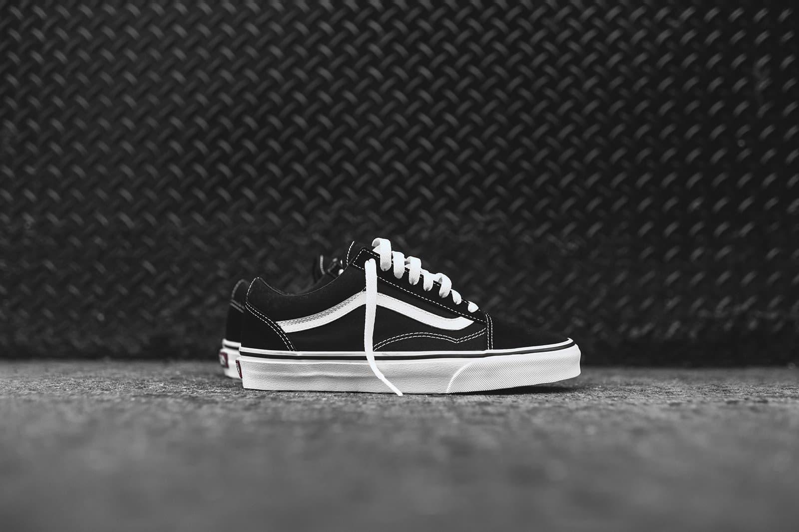 Jual sepatu vans classic old skool black white hitam putih dki jakarta velmond store tokopedia