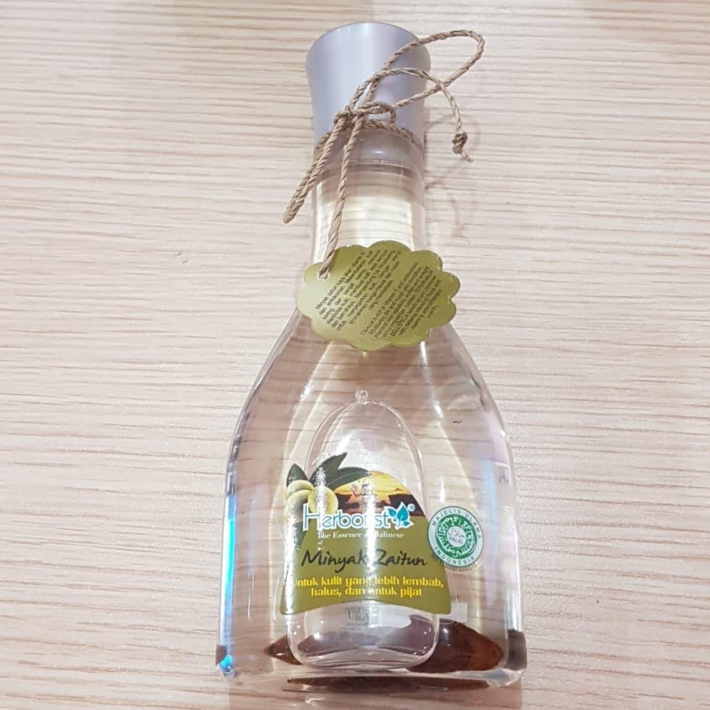 Jual Herborist Minyak Zaitun 150ml Lijaya Cosmetic Tokopedia