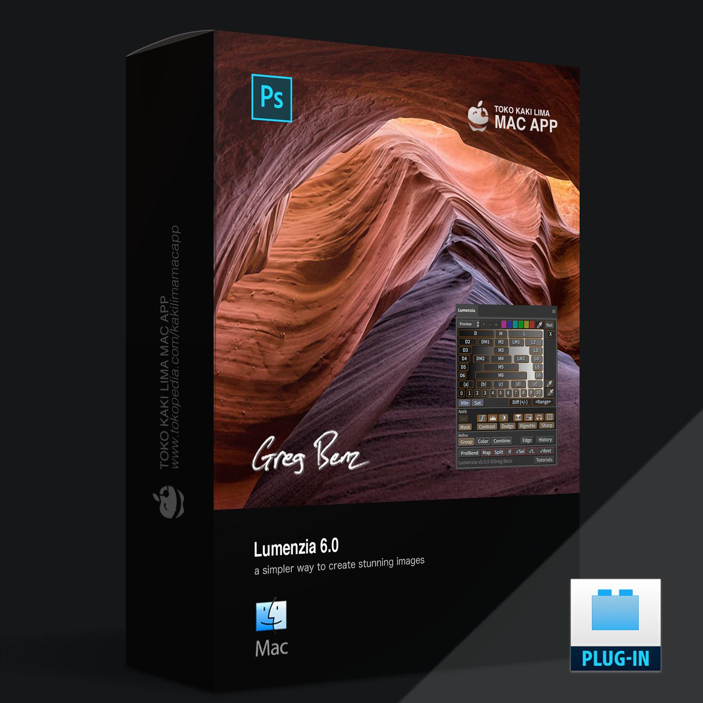 Jual Lumenzia 6 0 Photoshop Plugins - Kaki Lima Mac App