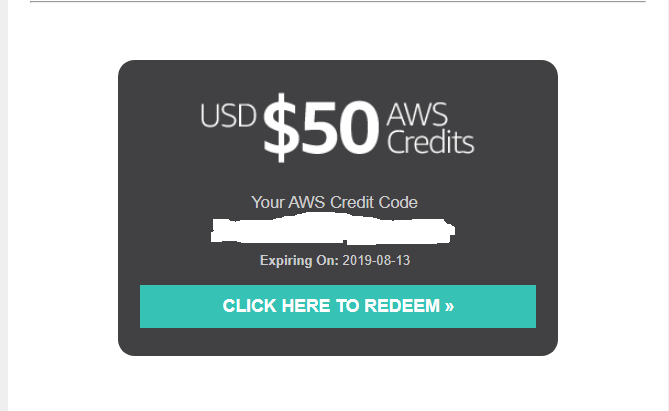 Jual AWS Credit $50 - Kab  Bojonegoro - KakaOnline96 | Tokopedia
