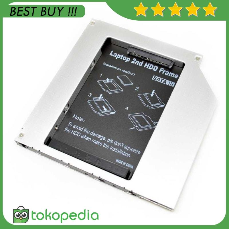 Jual Universal 2nd Hard Disk Drive Caddy Laptop 9 5mm
