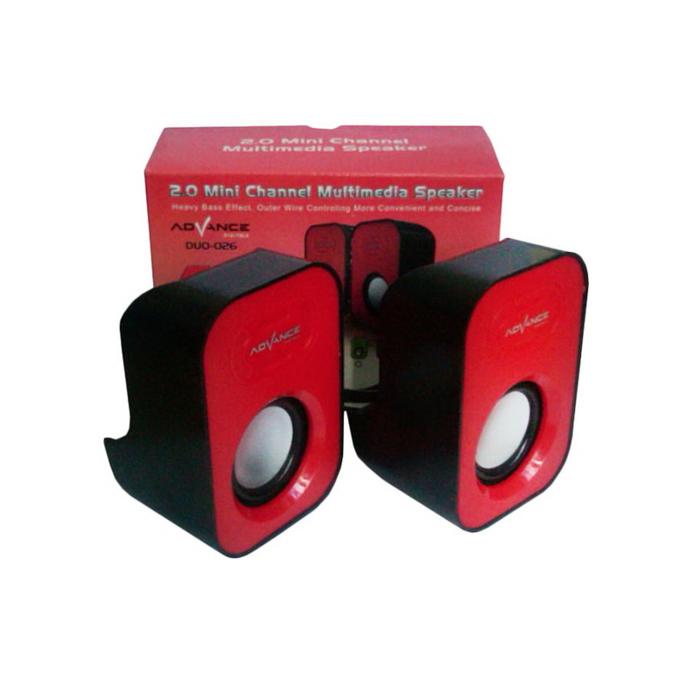 SPEAKER ADVANCE DUO-026 XTRA POWER SOUND SPIKER AKTIF MINI DUO 026