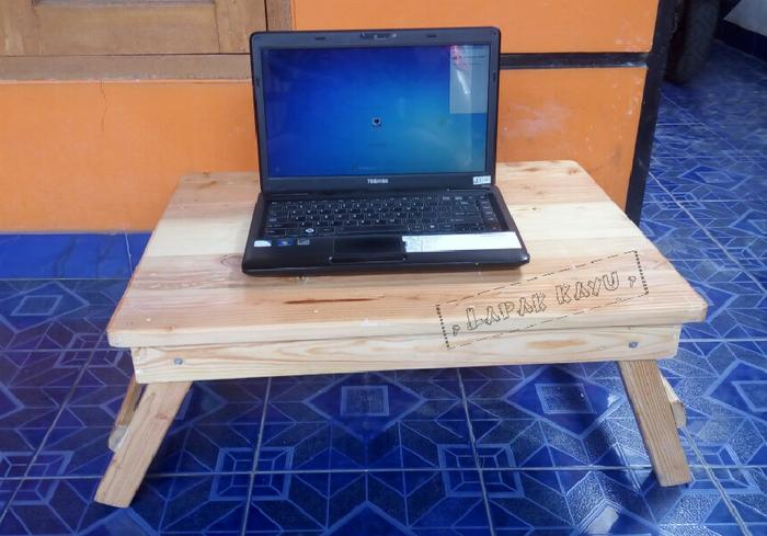 Jual Promo Meja Jual Kayu Lipat / Laptop / belajar/ uk  P55 x L35 x