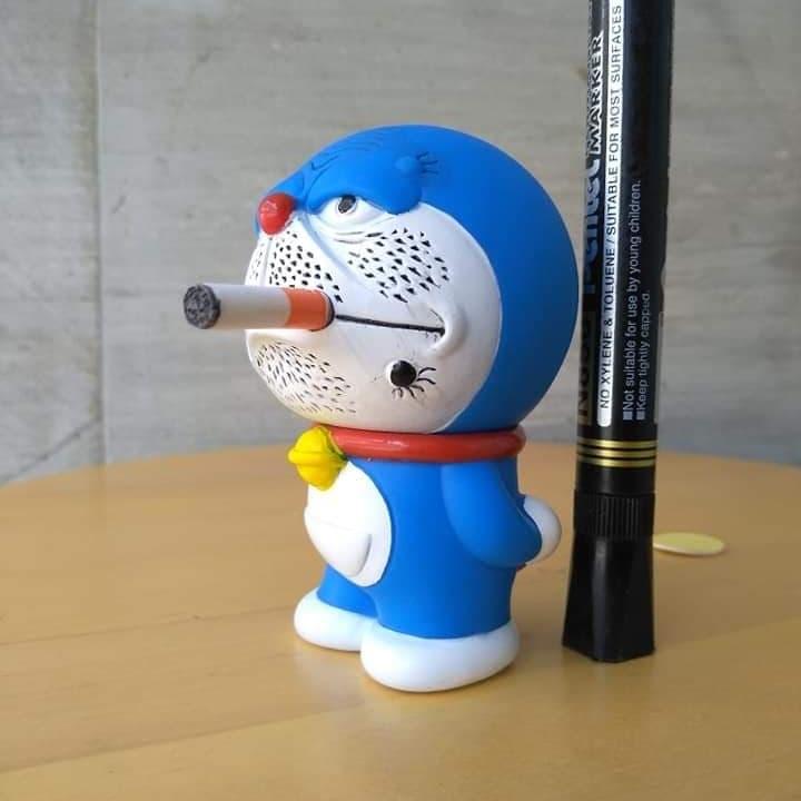 Download 100 Gambar Doraemon Merokok Hitam Putih Terbaru Gratis