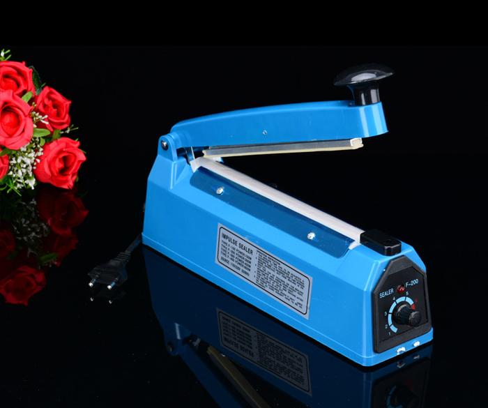 Impulse sealer PFS- 200 Alat pres plastik - Biru