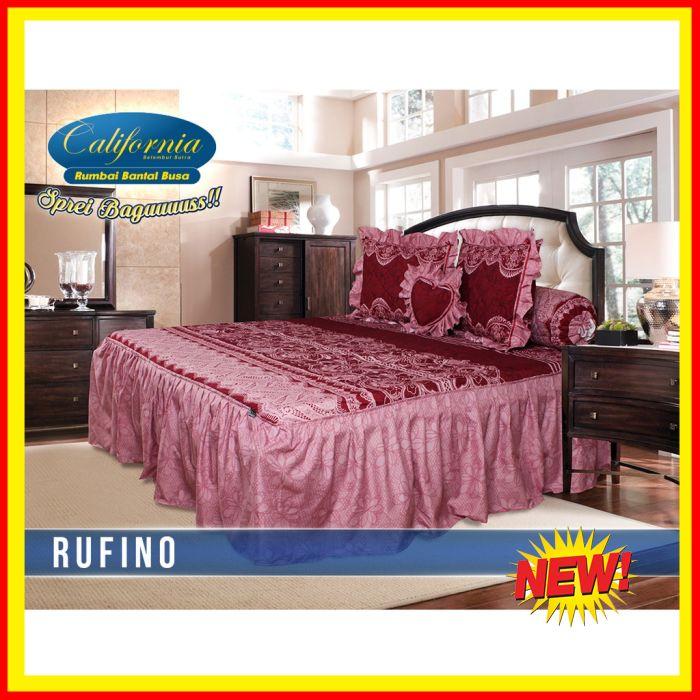 BELI Sprei Rumbai King California motif Rufino 50741259ac