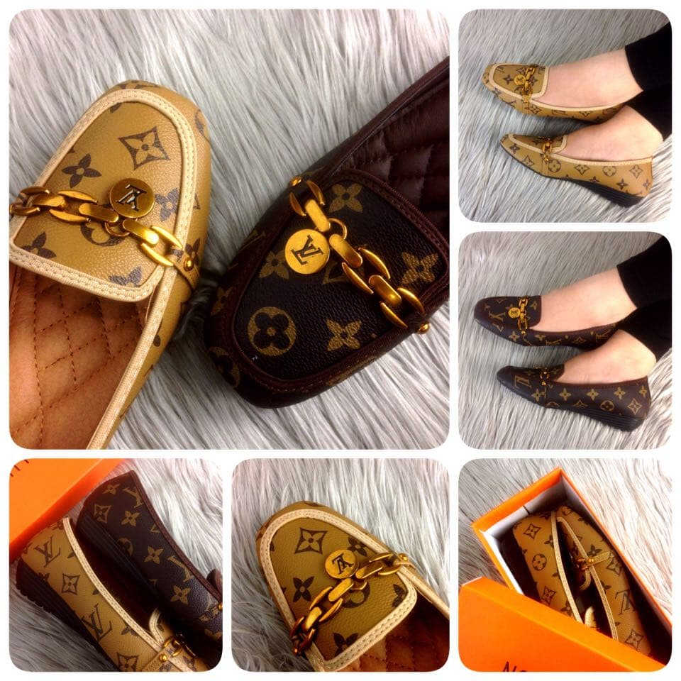 25cfed7435ae Jual Sepatu Wedges LOUIS VUITTON LV39-111 - ryanty shop ...
