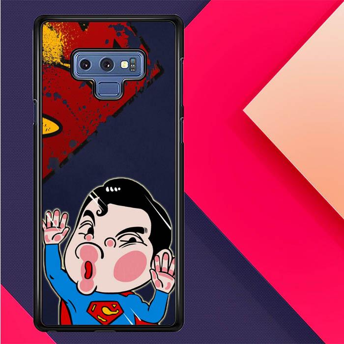 MURAH Hardcase Hp Samsung Note 9 Sticker hit glass Superman Z3691 db67843ae2