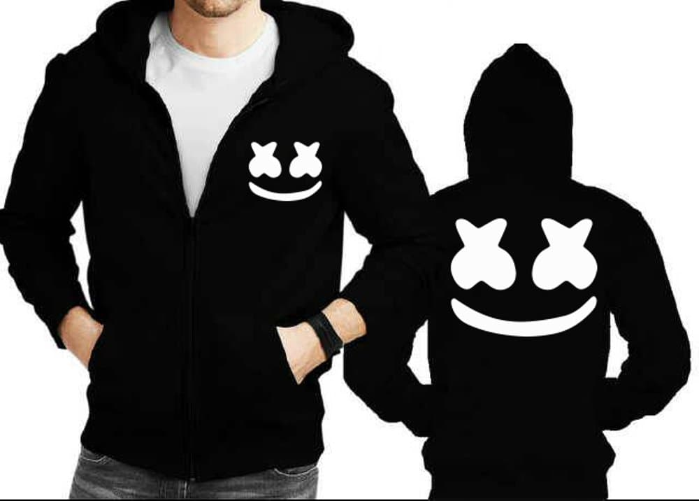 DISKON Jaket hoodie zipper Marshmello Diskon ddcd9cf449
