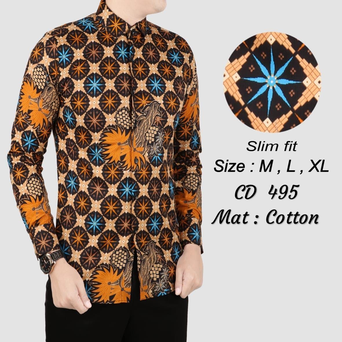 Top Model Desain Baju Batik Pria | 1001desainer