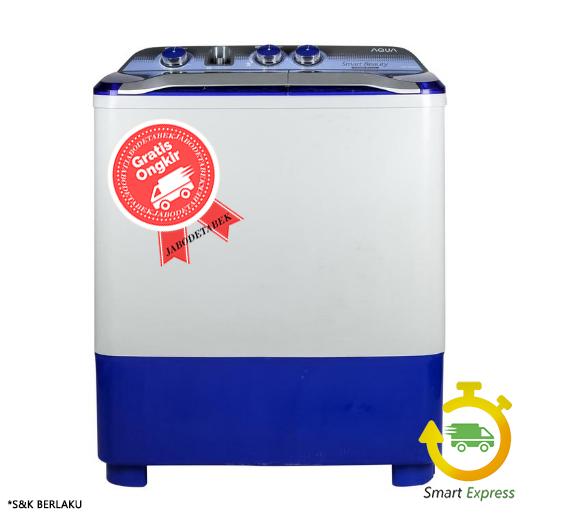 Mesin Cuci AQUA QW-880-XT ( 2 Tabung ) - 8KG