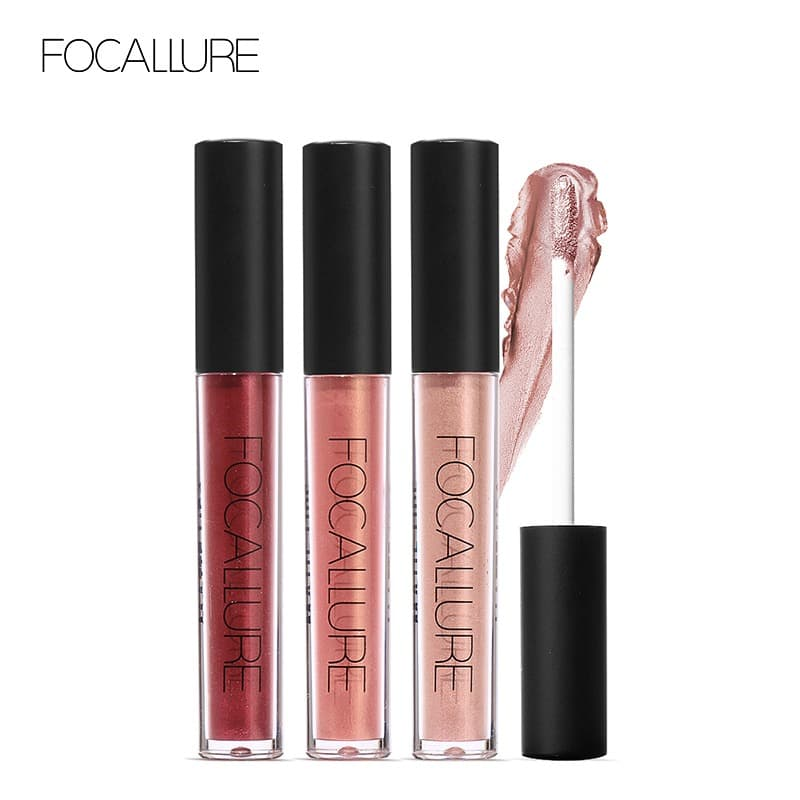 FOCALLURE Liquid Lipstick Metalic Long Lasting Waterproof FA24 - FA24-19L thumbnail