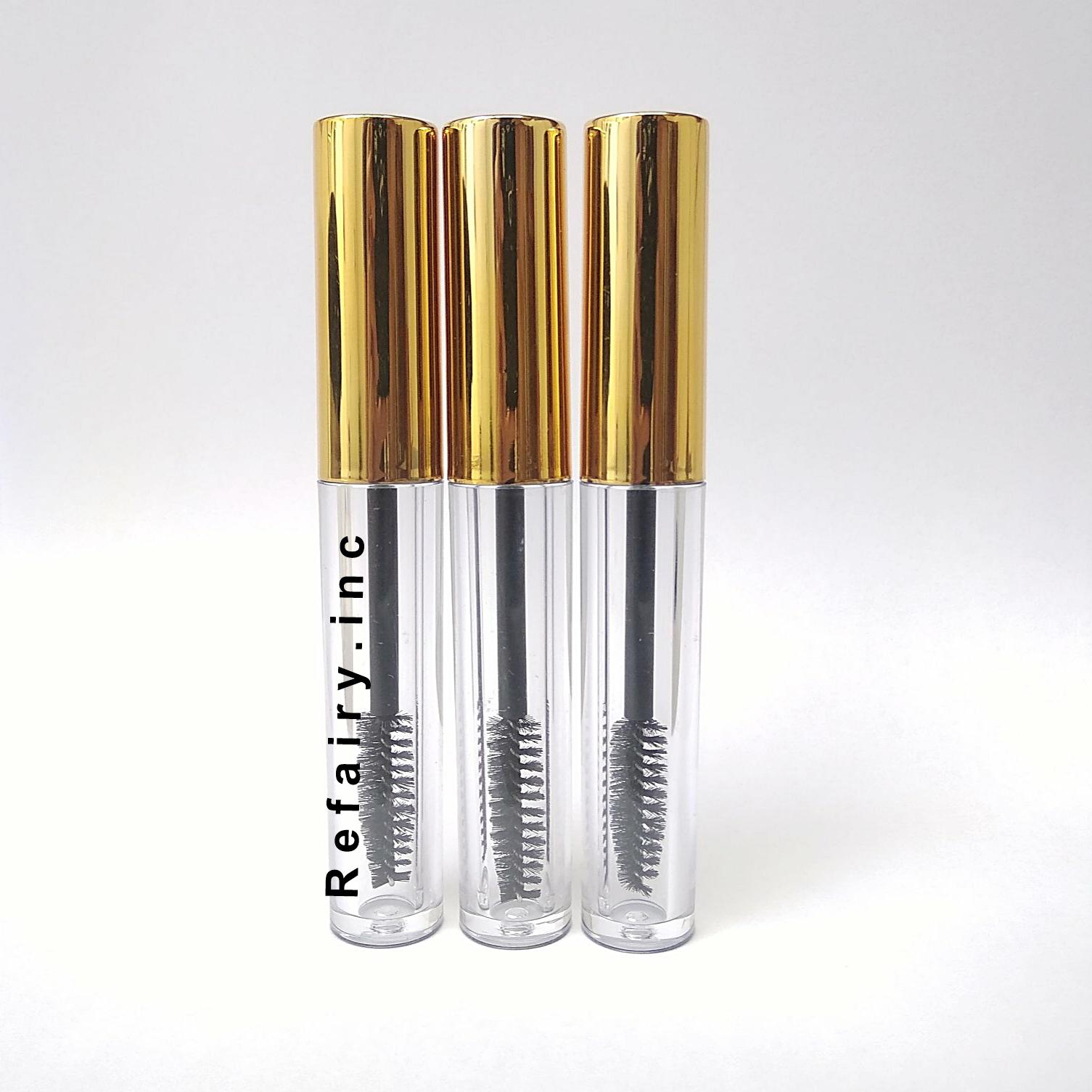 Botol Maskara 4 ml acrylic Tempat wadah mascara 4 ml akrilik - Gold thumbnail