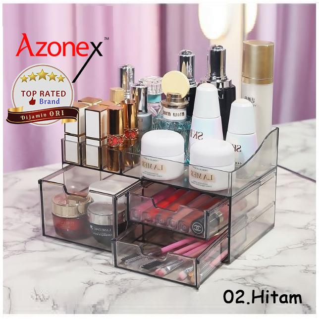 Beauty Case Tempat Penyimpanan Make Up Organizer Kosmetik Telus BCLIC - Hitam thumbnail