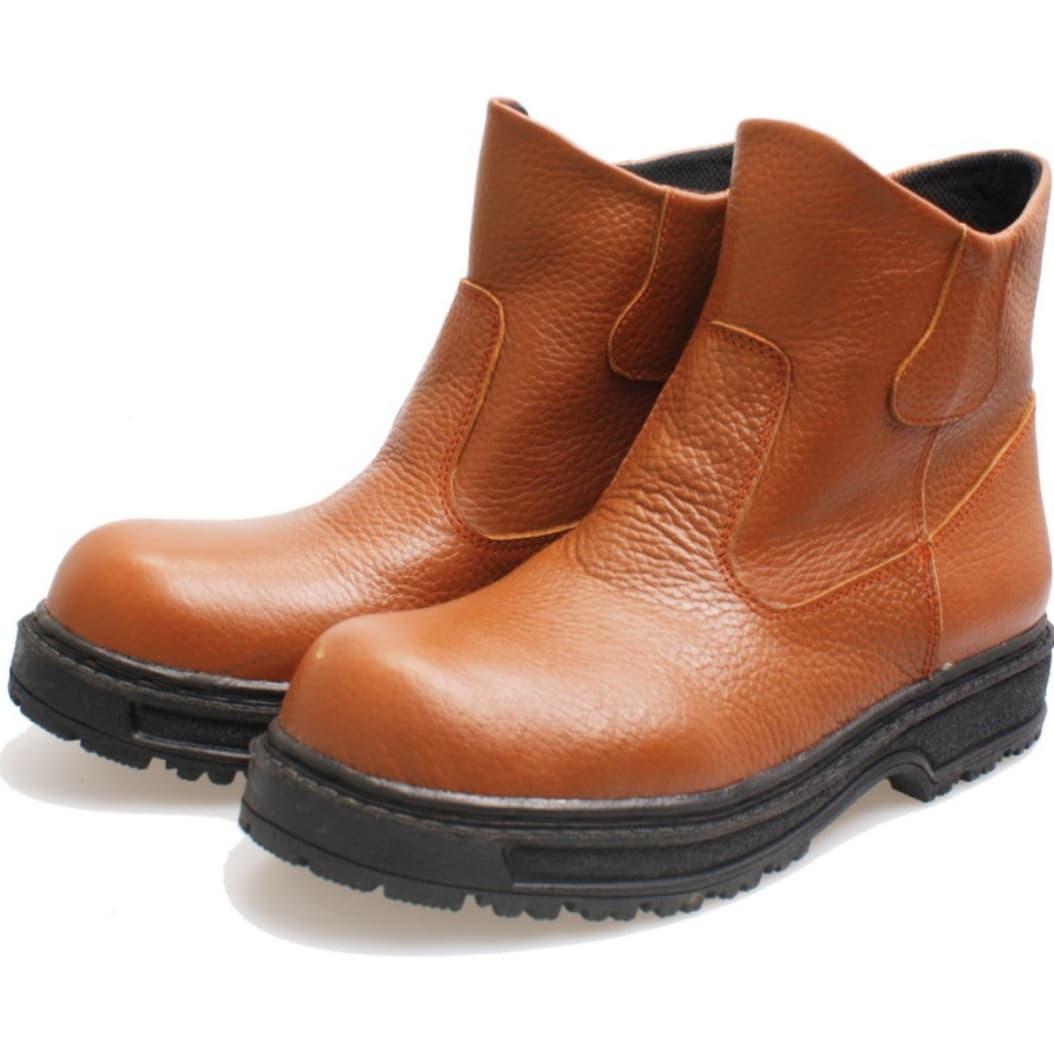 Sepatu Safety Pria Bsm Soga 4 Cokelat 38