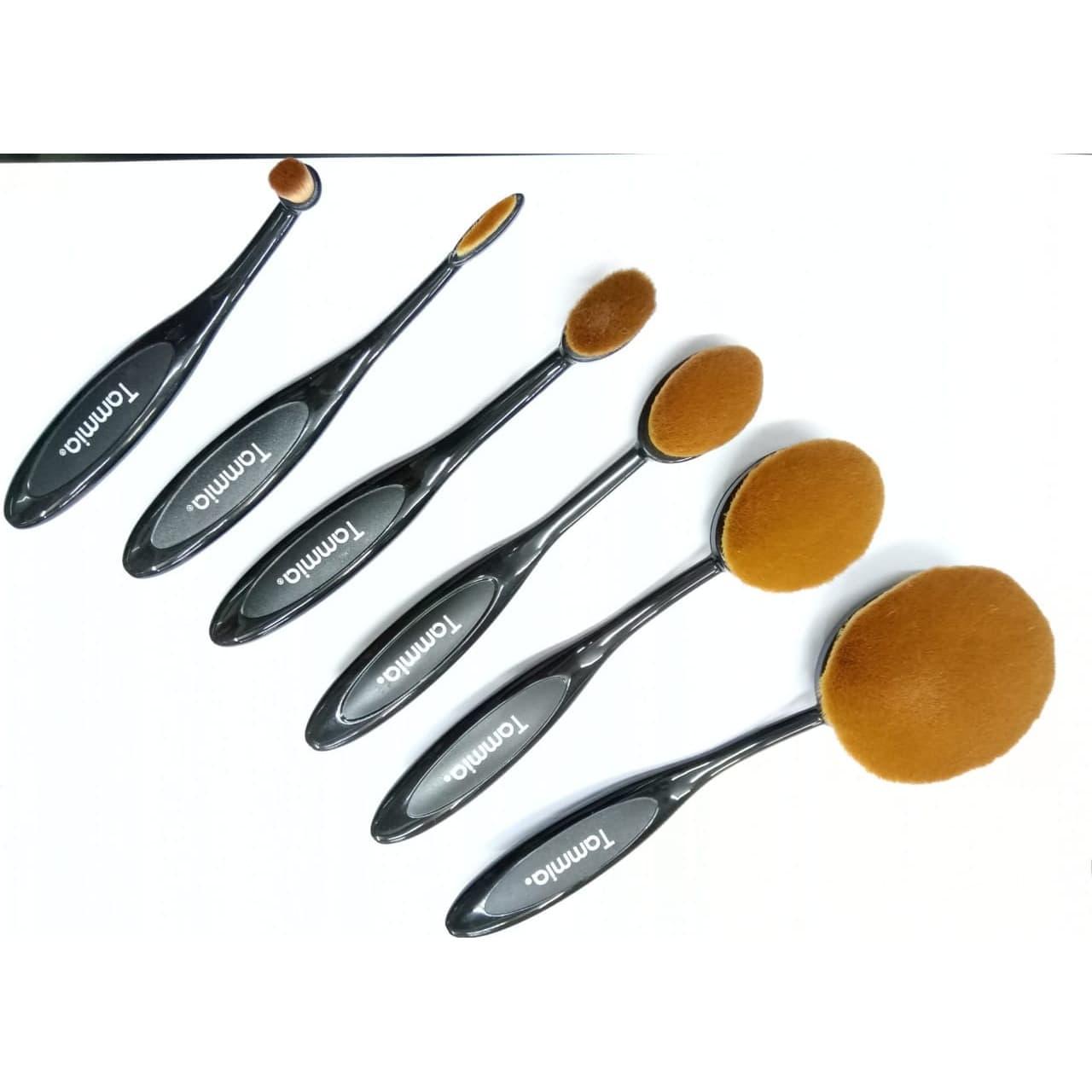 Tammia 1042B-10 velvet oval brush 2