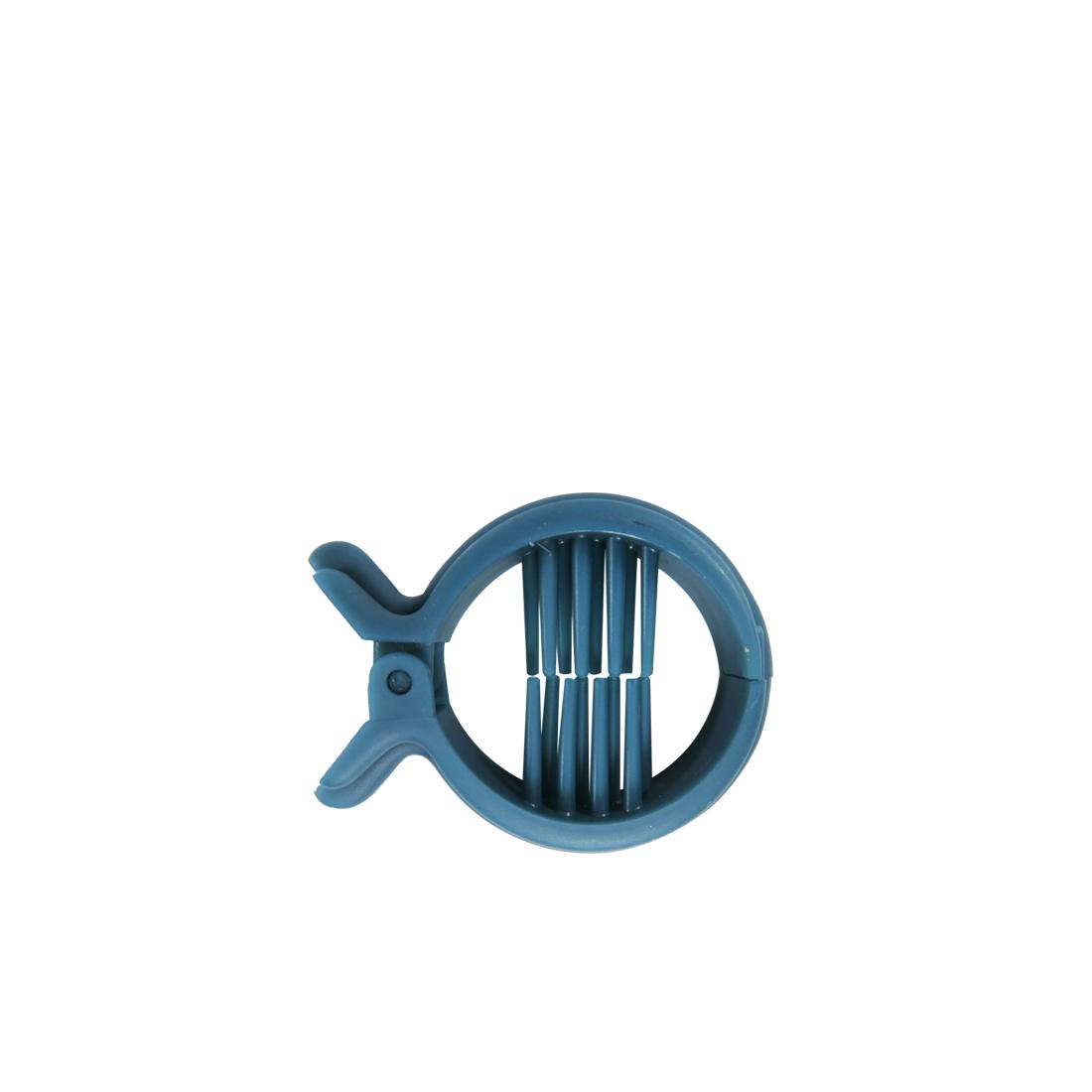 BALLIN Jepit Rambut CLAW FISH MORE - Putih thumbnail
