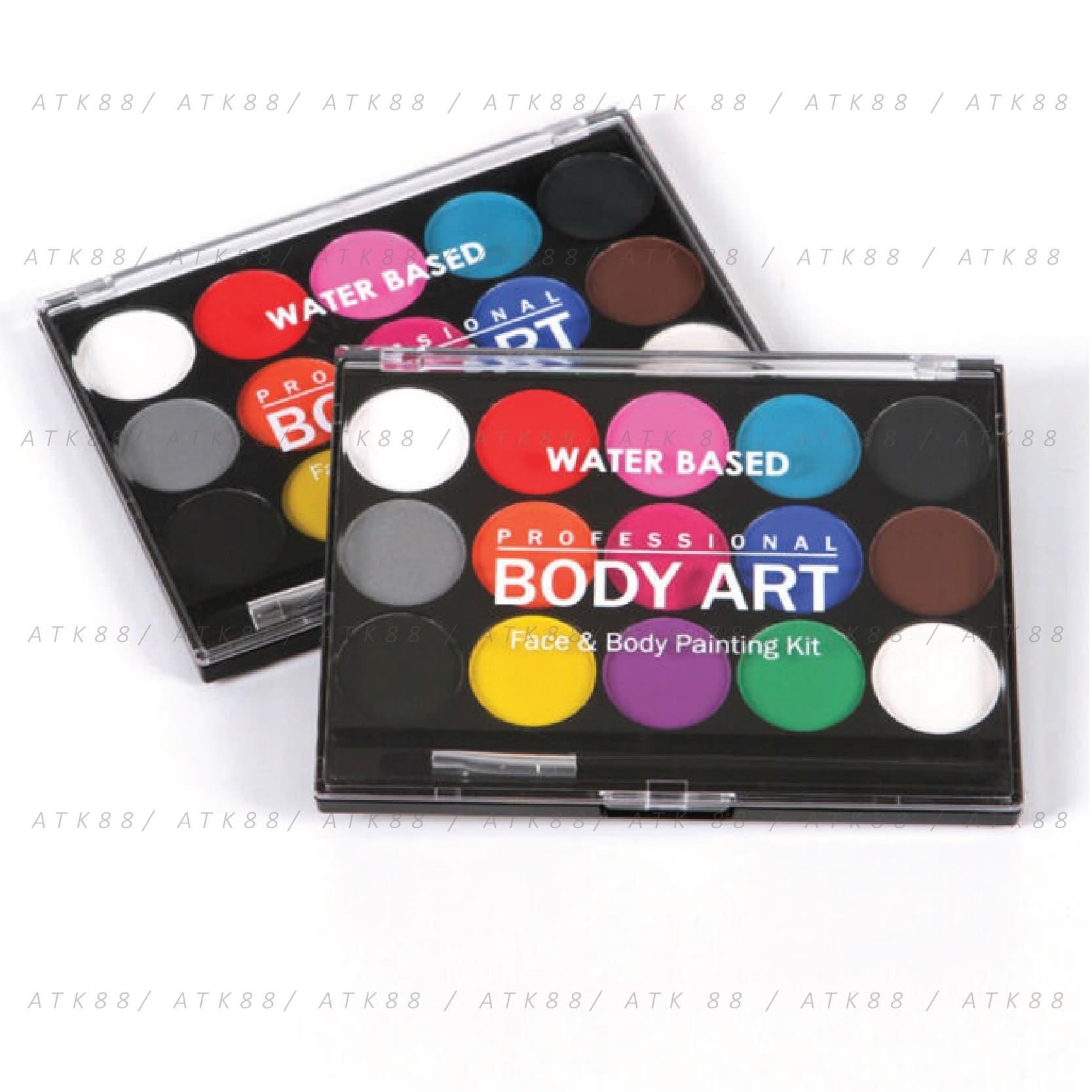 Body Art Face & Body Painting Kit thumbnail