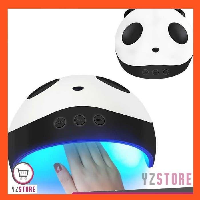 Pengering Kutek Kuku Gel 36W Lampu UV LED Nail Art Dryer Panda Design thumbnail