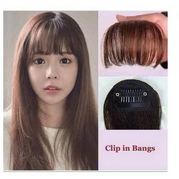 poni clip hair clip tipis korea thumbnail