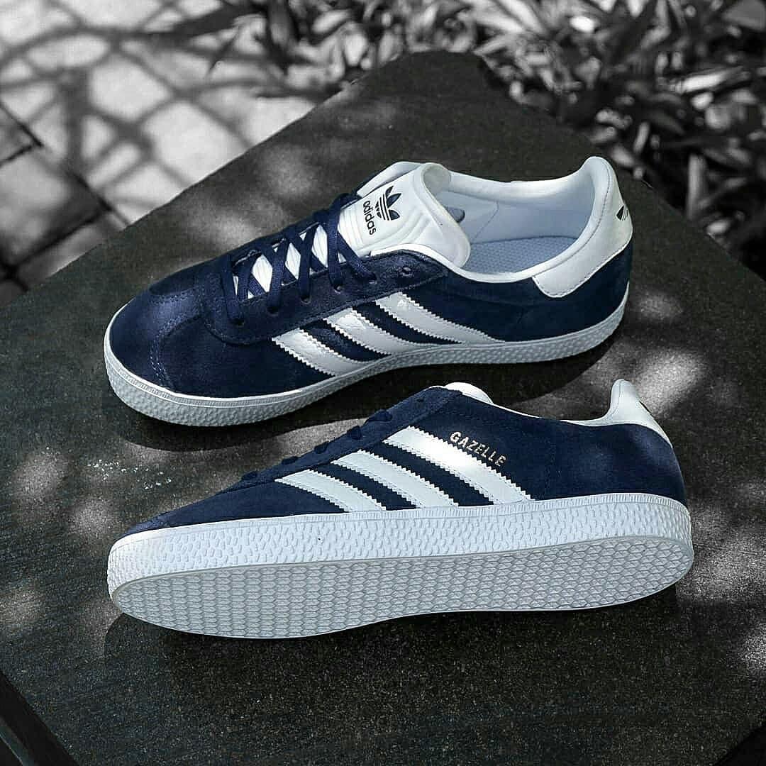 1c0030b9 Jual Sepatu Casual Adidas GAZELLE NAVY/WHITE Original Indonesia