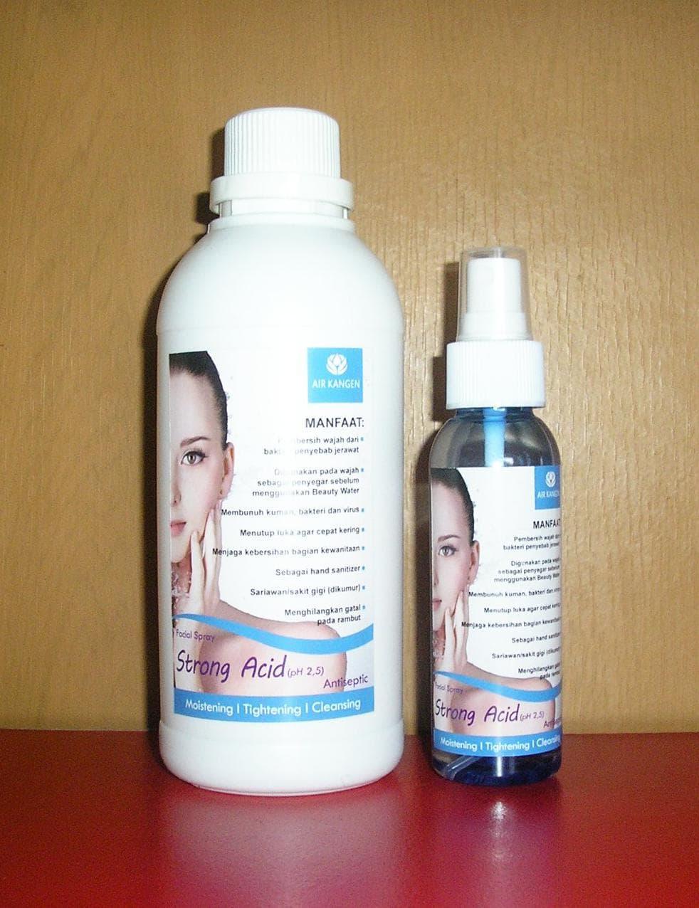 Jual Refill Strong Acid 500ml dan Strong Acid 100ml by - Kangen Water - bullish store | Tokopedia
