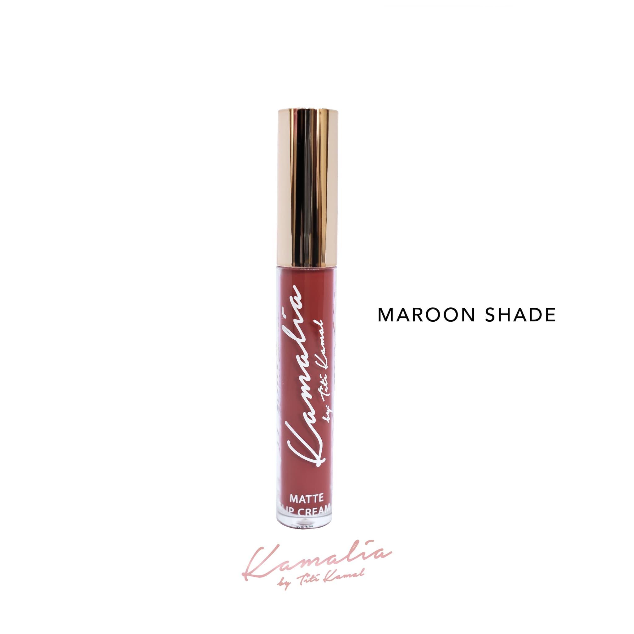 Maroon Shade Kamalia Lip Matte 4.2ml (Great Coverage, Last All Day) thumbnail