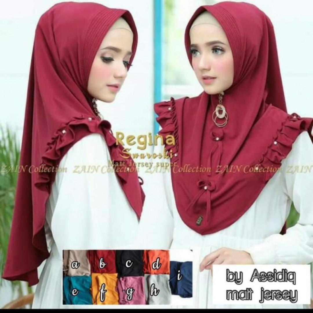 Jual Hijab Mini Khimar Regina Airis Super Murah - Kab. Cirebon