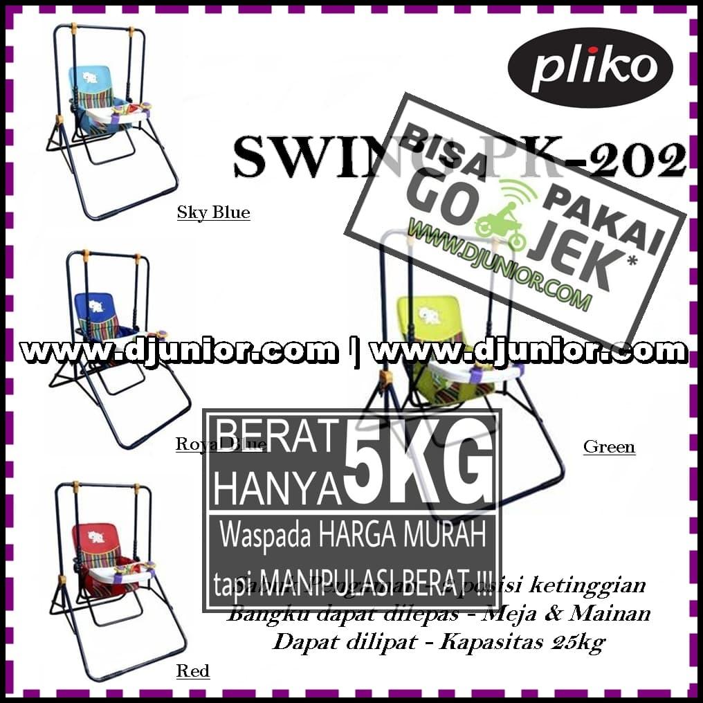 Jual PLIKO - BABY SWING PK 202 / PK202 / AYUNAN BAYI - DJUNIOR.COM | Tokopedia