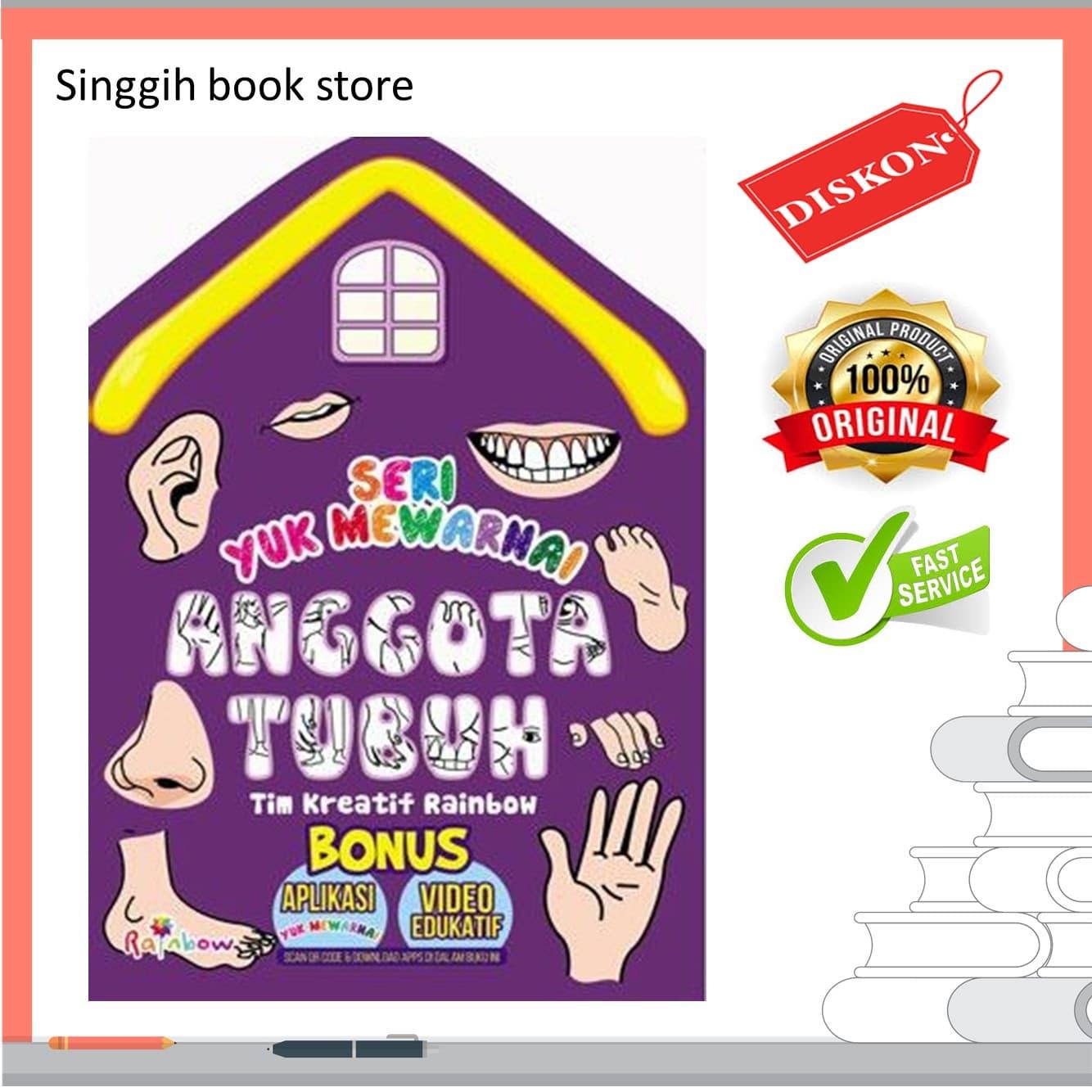 Jual Seri Yuk Mewarnai Anggota Tubuh Singgihbookstore Tokopedia