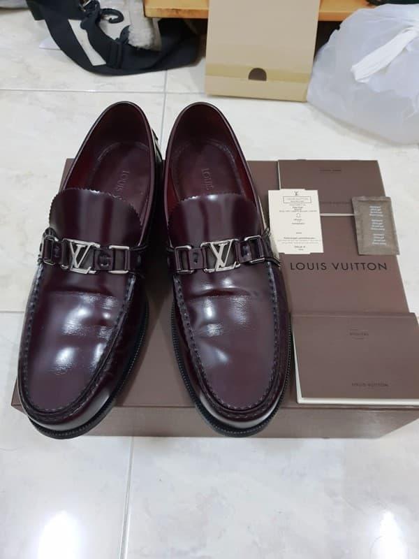 35c26f46efd Jual new promo Dapatkan promo Louis Vuitton LV Major Loafer original ...