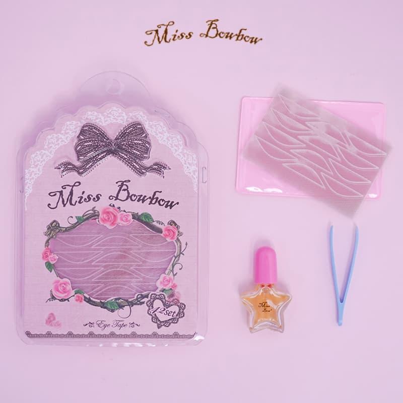 Miss Bowbow Premium Invisible Eyelid Tape Pink Size L thumbnail