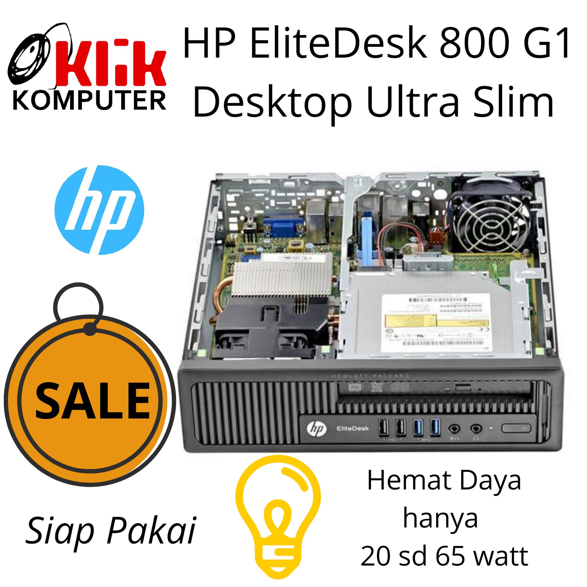Jual HP EliteDesk 800 G1 Ultra Slim Desktop Business PC Core I5