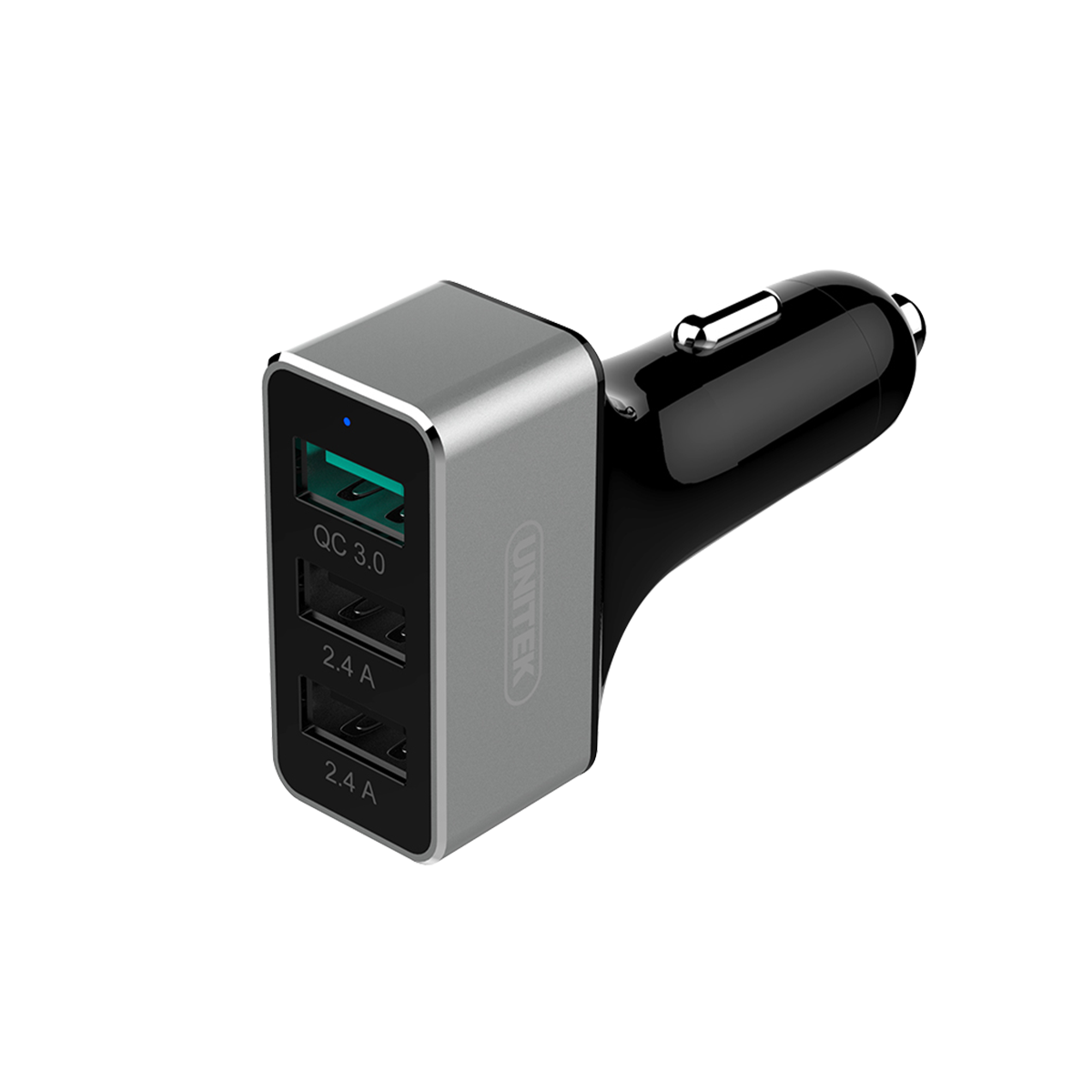 Unitek Car Charger 42W QC 3.0 3 Port USB (YP530C)
