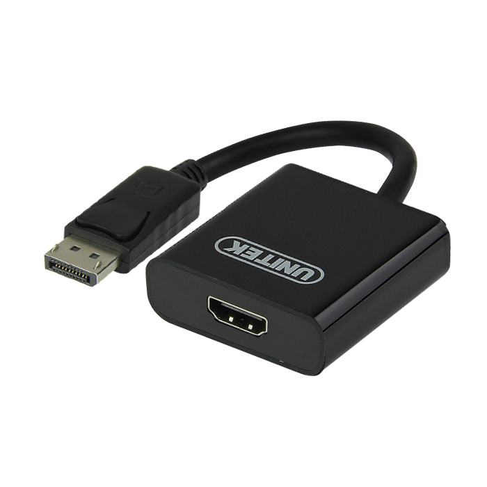 Connector / Konverter Display Port To HDMI Converter - Merk Unitek (Y5118DA)