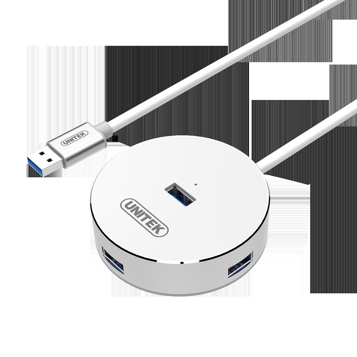Unitek USB 3.0 4Port HUB Aluminium - Y3197
