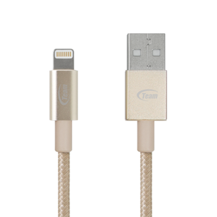 Team Apple Lightning Cable Gold MFI - TWC01D01