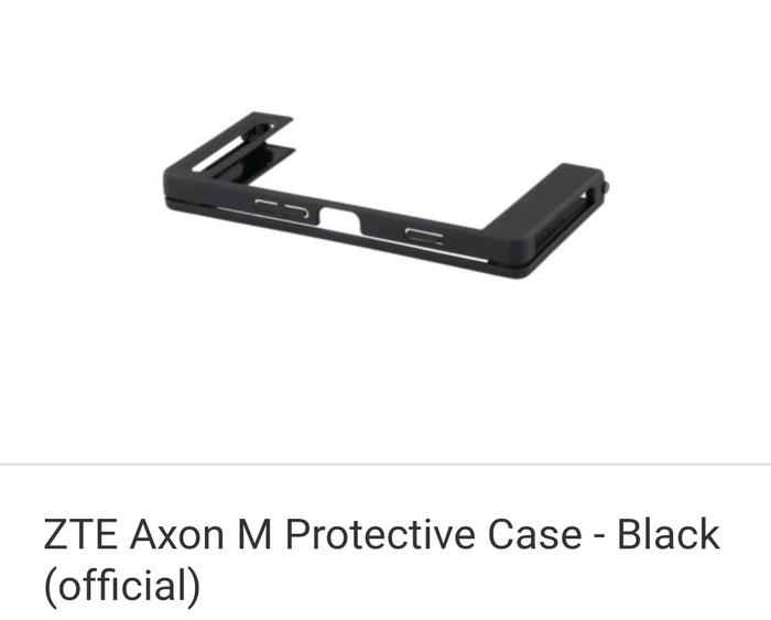 detailed look 66cab 11621 Jual ZTE Axon M Protective Case - Black (official) - DKI Jakarta -  vapenkamera | Tokopedia