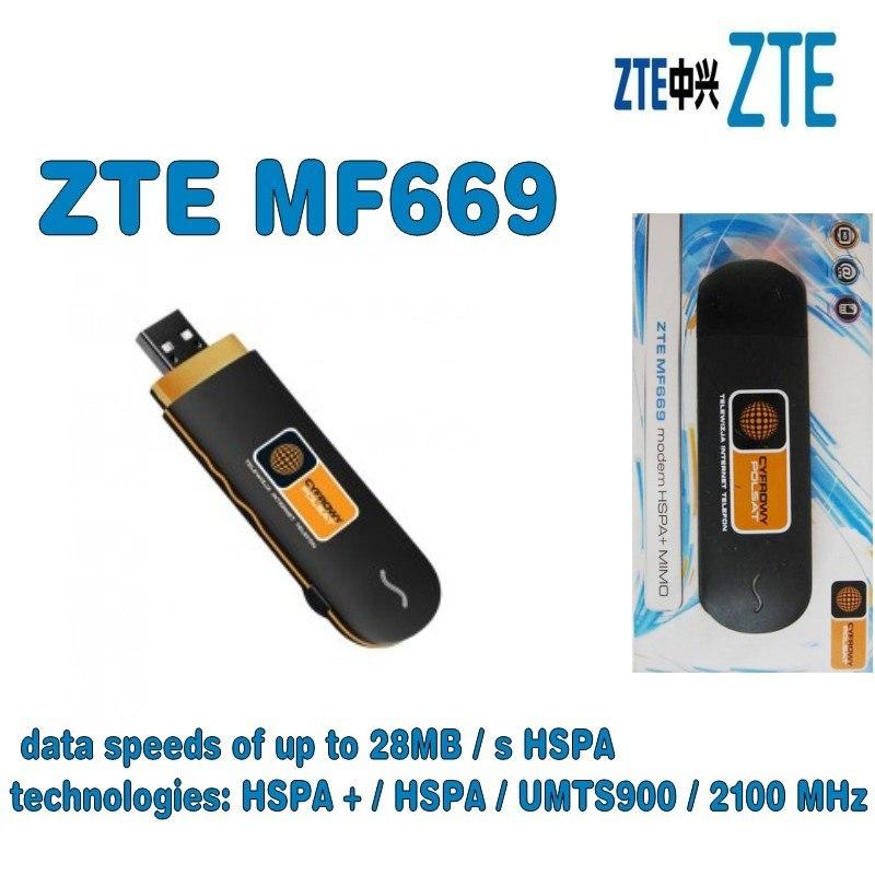 Jual New ZTE MF669 USB Modem HSPA 3G/ unlocked - Kota
