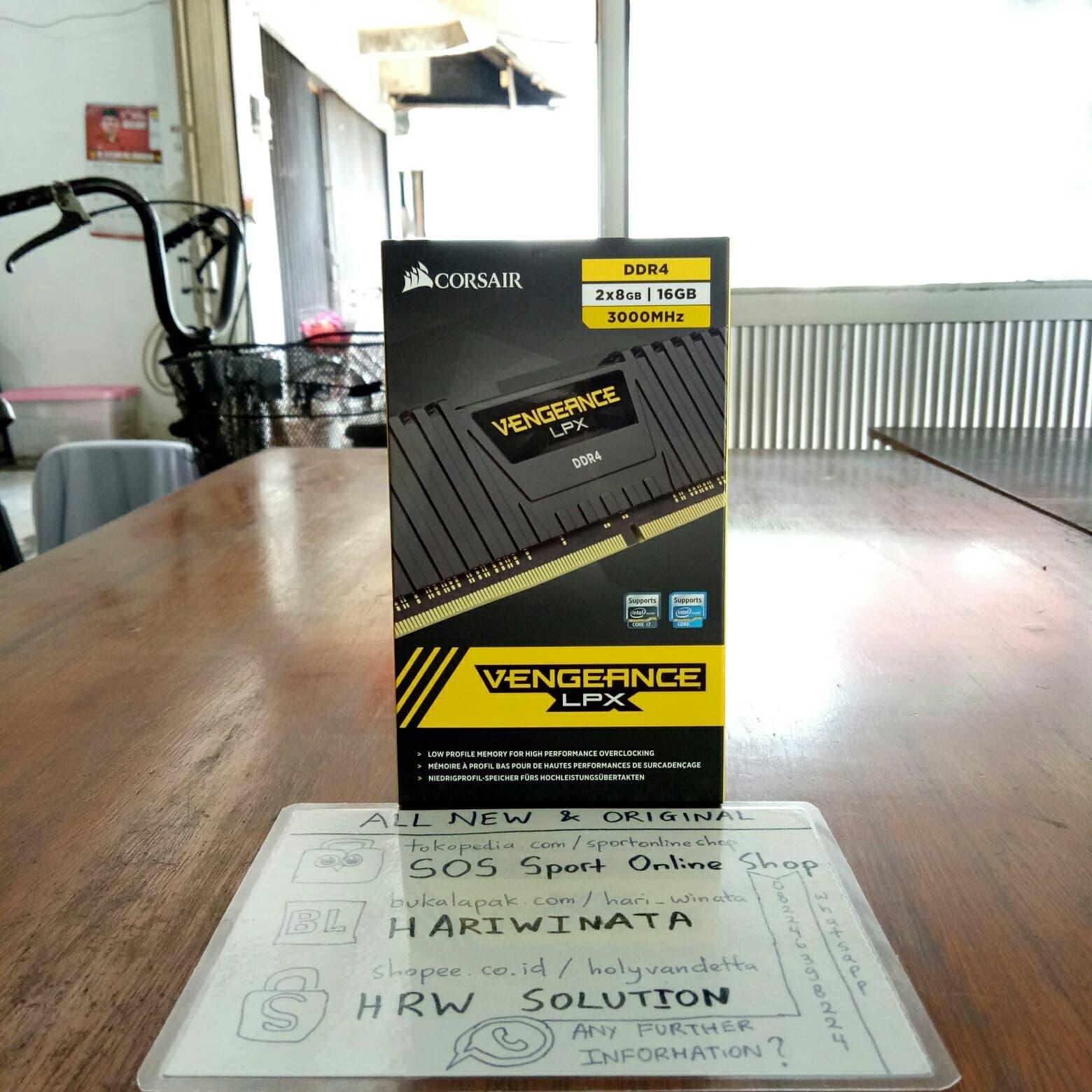 Jual Corsair DDR4 Vengeance LPX PC24000 16GB (2X8GB
