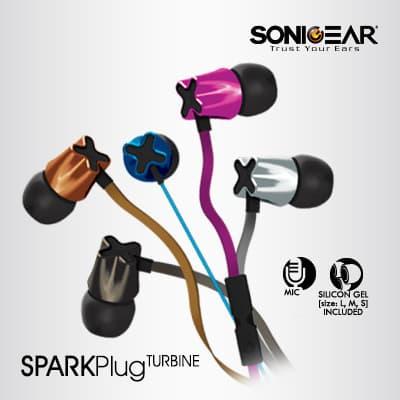 Sonic Gear Spark Plug Turbine